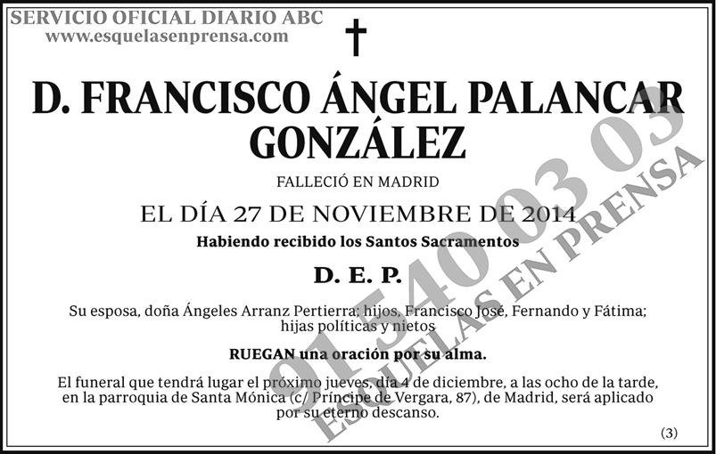 Francisco Ángel Palancar González